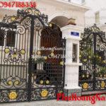 Thi công cửa cổng biệt thự đẹp tại sài gòn